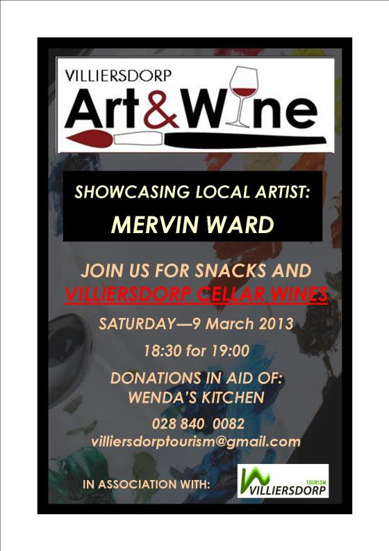 Art & Wine Initiative- Mervin Ward